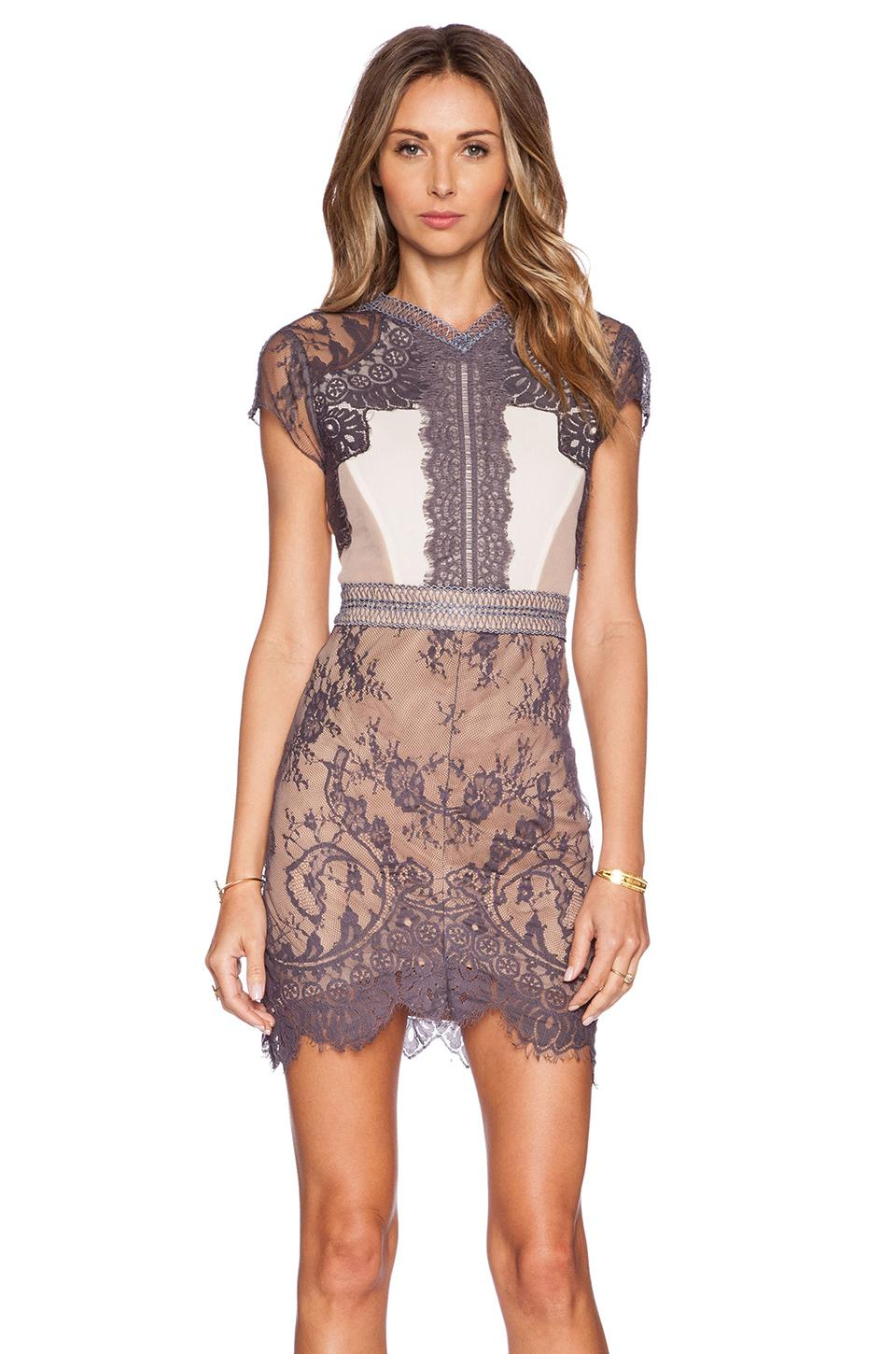 New Vintage Brown Straight Lace Sequence Dress Sexy Women Casual Short-Sleeve Party Mini Dresses Vestidos W850632