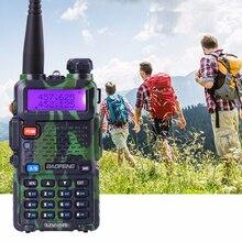 Promotion Camouflage BAOFENG UV-5R Talkie Walkie Dual Band Radio 136-174 Mhz et 400-520 Mhz Baofeng UV5R de poche à Deux Voies Radio
