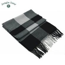 Winter Scarf 2017 Cashmere Scarf Plaid Blanket Scarf New Designer men wool plaid bandana Scarves and Wraps WJ001