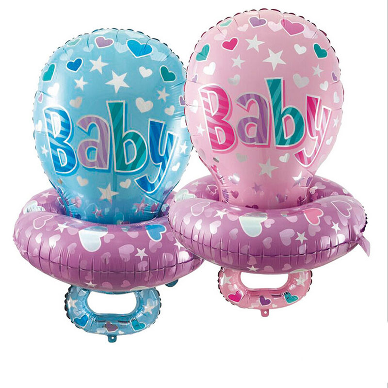 Retail Big Baby Pacifier Nipple Foil Balloons For Baby Shower Large Printed Balloons  Baby Toys For New Born Children In Ballons U0026 Accessories From Home ...