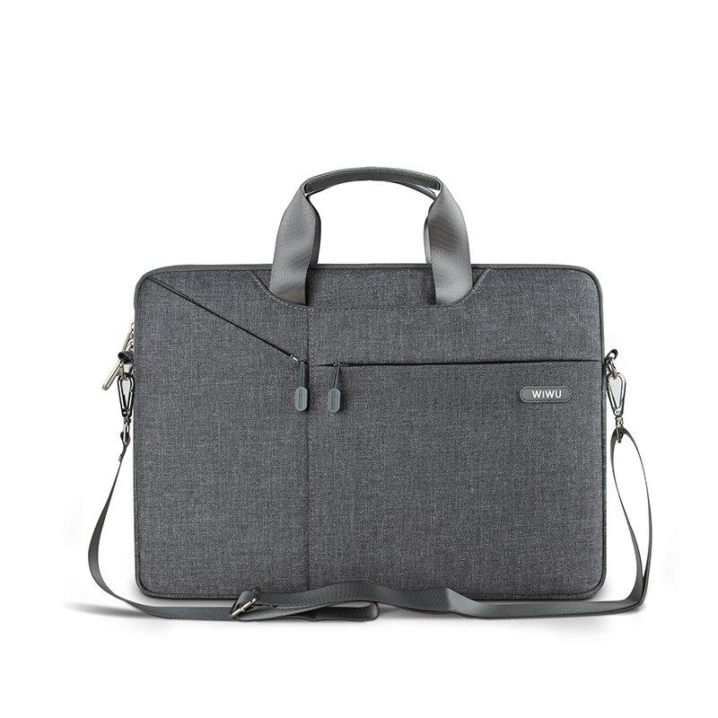 WiWU Laptop Bag Case For MacBook Air 14.1 13.3 Notebook Bag 17.3 15.6 15.4 Gearmax Waterproof Messenger Bags(China)