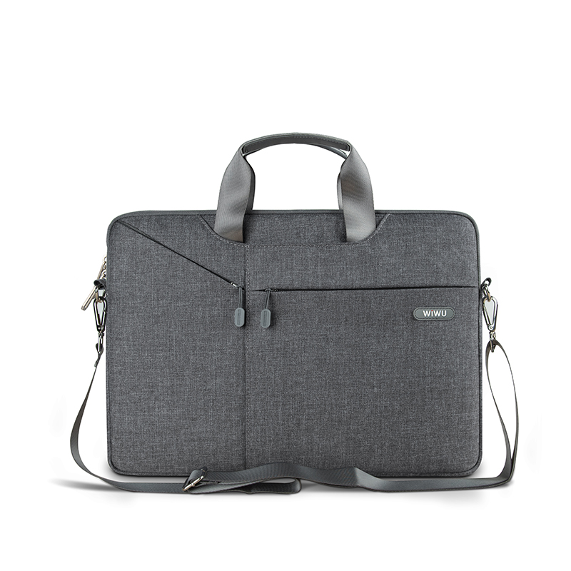 WiWU Laptop Bag <font><b>Case</b></font> For MacBook Air 14.1 13.3 <font><b>Notebook</b></font> Bag <font><b>17.3</b></font> 15.6 15.4 Gearmax Waterproof Messenger Bags image