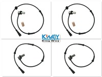 ABS WHEEL SPEED SENSOR FRONT REAR LEFT RIGHT FOR LANDROVER FREELANDER 1997 2000 NEW 4 PCS