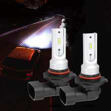 9006 HB4 Led Fog Light Bulb High Power CSP-Y11 Cool White 6000K (Pack of 2) Car Daytime Running Lights Car-styling(China)