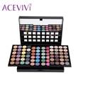 ACEVIVI New Lady Women Eyeshadow Wedding New Year professional 78 Colors Eyeshadow Palette Makeup Set
