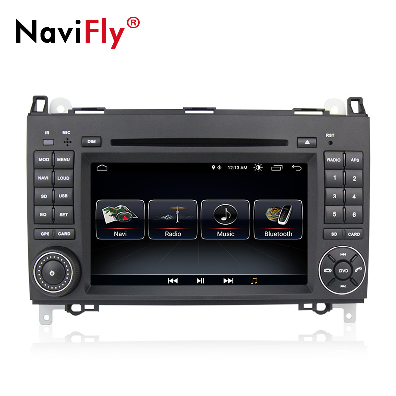 NaviFly 1G+16G Android 8.1 car dvd multimedia for MercedesbenzB200A160A-class W169B-class W245vianovitosprinter w906