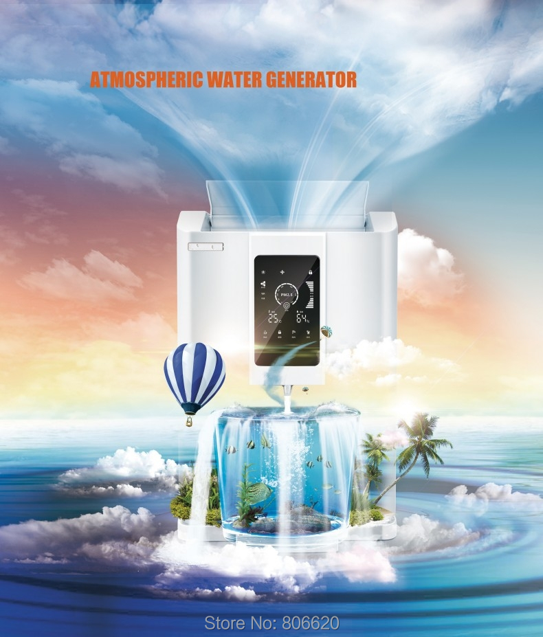 Home 20LD Pure Atmospheric Air to Water Treatment Dispenser Generator with Intelligent RO Filter & NFC Code-Scanning Match Tech_Product_2
