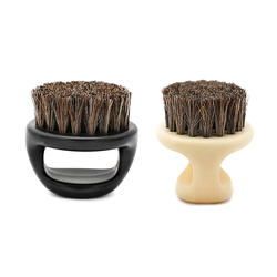 2019 Новинка, 1 шт. конский волос помазок Парикмахерская кисточка для бритья для ухода за бородой инструмент Razor кисть с ручкой для Для мужчин 2