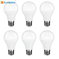 LumiParty 6 Pcs LEVOU Lâmpada 7 W Luz Do Dia Branca 3000 K LED Luz de Poupança de Energia Lâmpadas