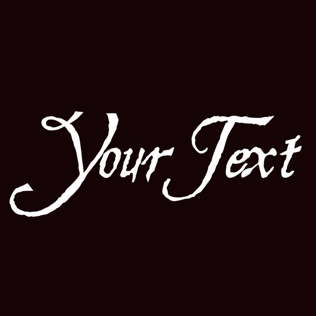 Hesperides Your Text Vinyl Decal Sticker Car Window Bumper CUSTOM - Custom car window decals stickers