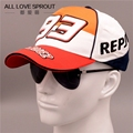 NEW Sport Cap F1 Car Motocycle Racing Moto Gp Marc Marquez 93 Embroidery Baseball Cap Hat Leisure Baseball Caps Camisetas