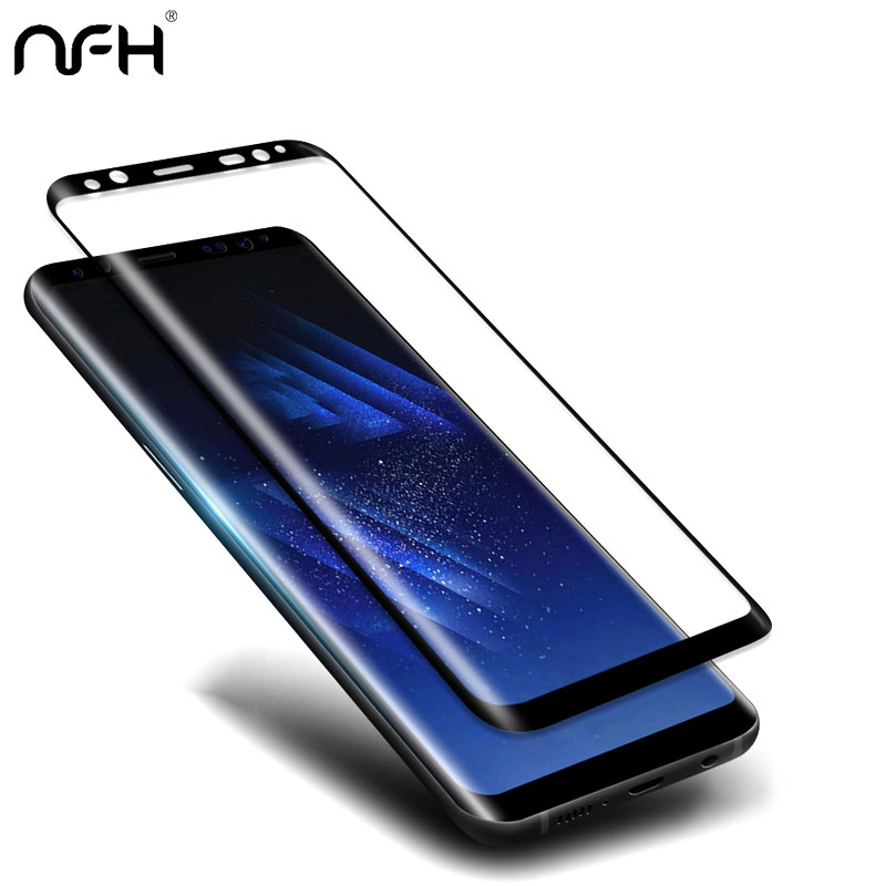3D Arc Protective Flim Tempered Glass για Samsung Galaxy S6 S7 edge S8 S9 Plus Note 8 9 Full Screen Protector Film Guard Cover