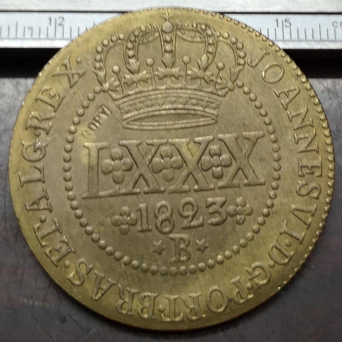 Brazil 1 Centavo coin 1975 km585 South America UNC coin