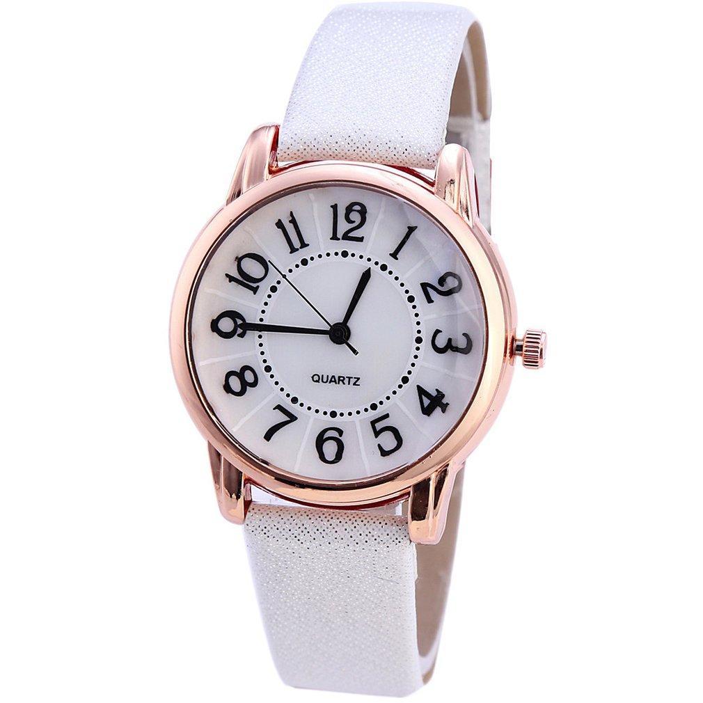 SC187 Digital SCale Compact Ladies Watch Casual Fashion Ladies Quartz Watch Personality Wild Women Watch Best Gift