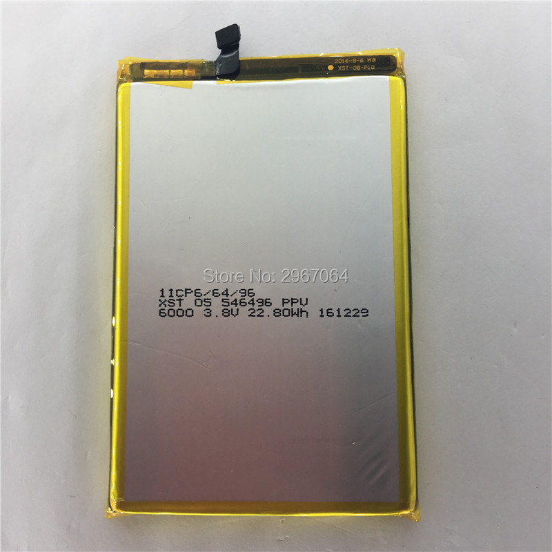 Mobile phone battery Blackview P2 battery 5500mAh Mobile Accessories High capacit Original battery Long standby time