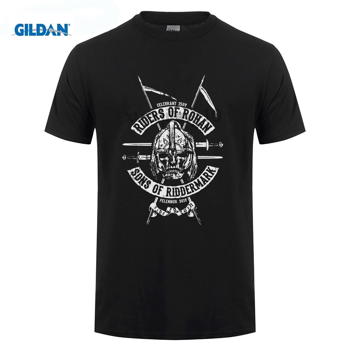 Buy Riders of Rohan Tolkien   T     shirt   men Lord of the Rings inspired Ladies short Tee Tops printed   t     shirt