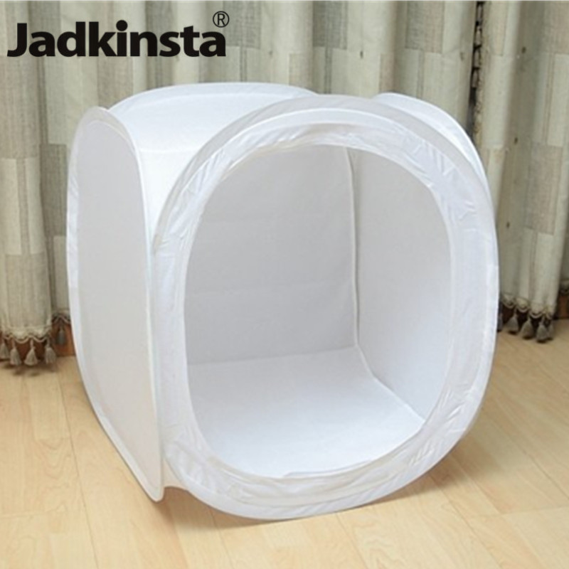 Photo Studio Soft Box 30cm 40cm 50cm 60cm 80cm Shooting Light Tent For Jewelry Toys Photography Carry Bag N 4 Backdrops Softbox