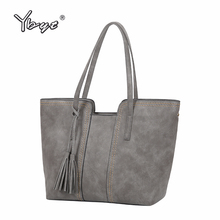 YBYT brand 2017 new vintage casual large capacity women handbags hotsale ladies shopping bag shoulder messenger crossbody bags