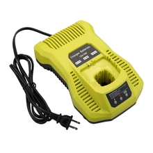 Hot TTKK 12V-18V Battery Charger P117 P118 For Ryobi Nicd Nimh Lithium Battery P100 P101 P102 P103 P105 P107 P108 P200 1400670 18v 2500mah li ion replacement battery for ryobi rb18l25 one plus for p103 p104 p105 p108 with p117 12 18v charger