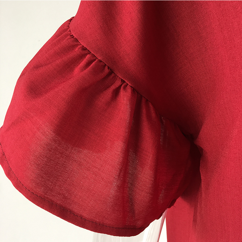 Plus Size Red Tops