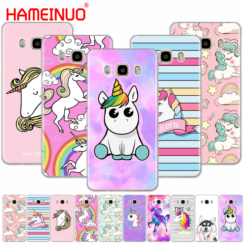 HAMEINUO Rainbow Unicorn cover phone case for Samsung Galaxy J1 J2 J3 J5 J7 MINI ACE 2016 2015 prime