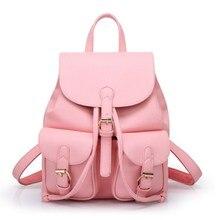 Известный бренд рюкзак Для женщин из искусственной кожи Большой Ёмкость школьные сумки для девочек-подростков путешествия Сумки на плечо Лидер продаж