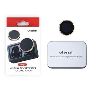 Image 5 - Ulanzi CPL Filtro de lente para Dji Osmo Action ND8 ND16 ND32 ND64 Filtro de lente de cámara accesorios de Cámara de Acción
