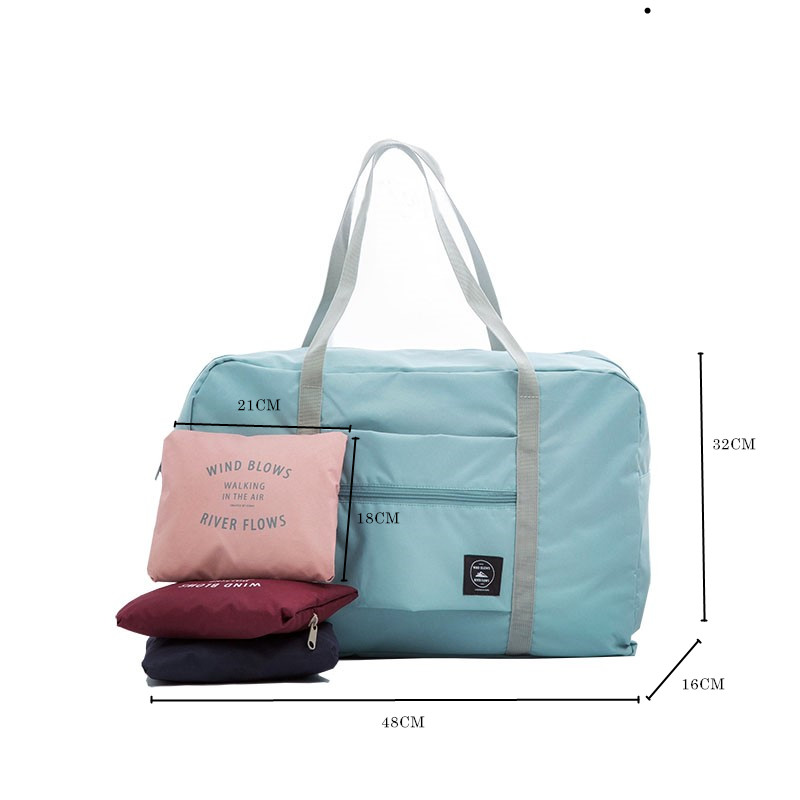 Women's Travelling Gym Bags Portable Female Folding Storage Sports Bag Large Capacity Women Fitness Sport Bag Male Tie Case