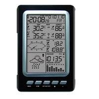 WS1030 Многофункциональный Солнечный дом Метеостанция погода Forecaster беспроводной термометр и гигрометр