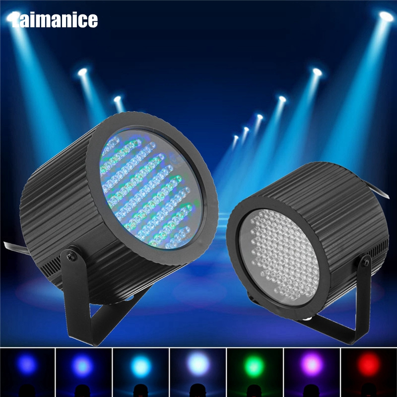 86 Par LED RGB LED Stage Light Effect DMX 512 Lighting Laser Projector Lamp For Christmas Party Disco Show Pub EU/US Plug