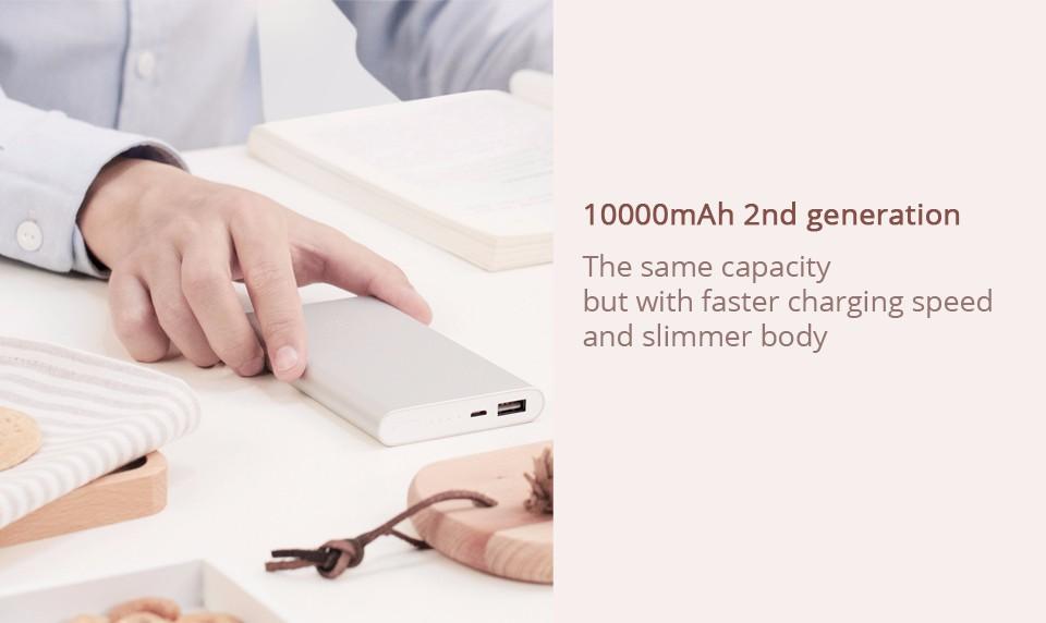 HTB1RPn3NVXXXXcyXpXXq6xXFXXX7 MI Power Bank 2 Quick Charge Technology 10,000mAh Original