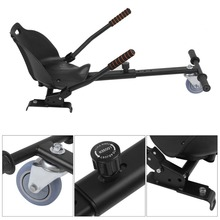 Three Wheel Go Kart Adjustable Hover Seat HoverKart For Swegway Hoverboard Accessories Electric Scooter For Adults Kids
