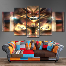 Naruto Anime 5 Pieces Canvas Art Modern Decorative Painting Wall  Home Decoration Living Room Artwork