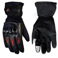 Pro Biker Motorcycle Gloves Winter Full Finger Warm Waterproof Windproof Protective Gears For Women MenGuantes Luvas