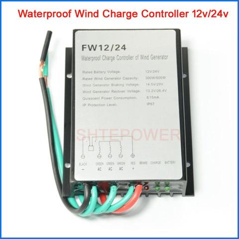 200 w 300 w 400 w controlador de carga do gerador de vento 600 w