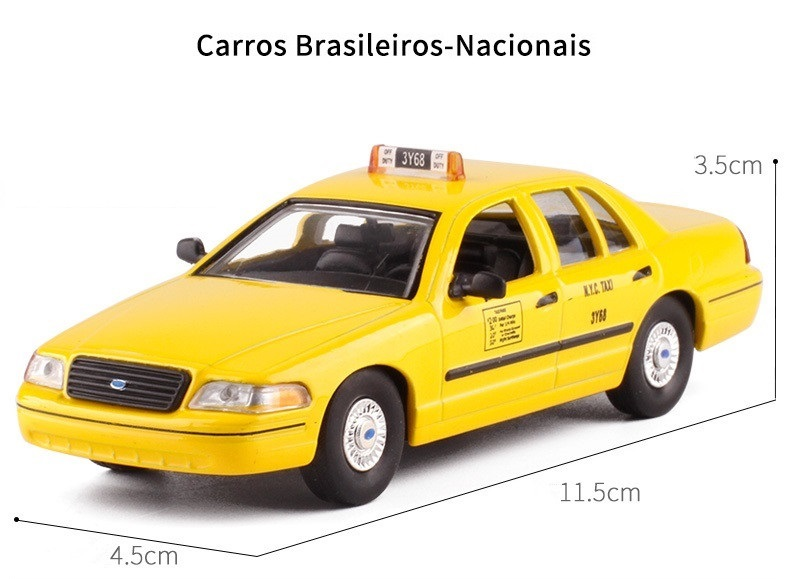 LEO 1//43 Diecast Car Ford Crown Victoria-New York-1992 Alloy Vehicle Model Toy