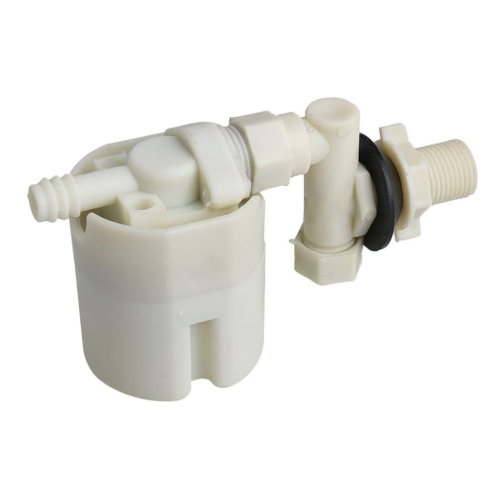 """1//4/"""" Small Water Level Control Tank Automatic Fill Plastic Floating Ball Valve"""