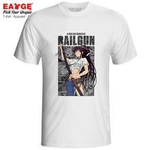 Saint Kanzaki Kaori Salvare000 T-shirt A Certain Scientific Railgun Anime Design Novelty Fashion T Shirt Funny Pop Women Men Top