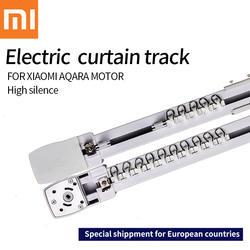 Оригинальный Xiaomi aqara двигатель Настраиваемые супер довольно Электрический шторы трек для Умный дом ЕС Главная страна