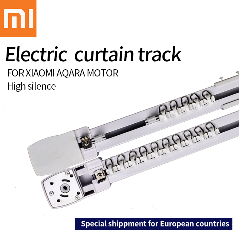 Original Xiaomi aqara motor Customizable Super Quite Electric Curtain Track for smart home for EU main