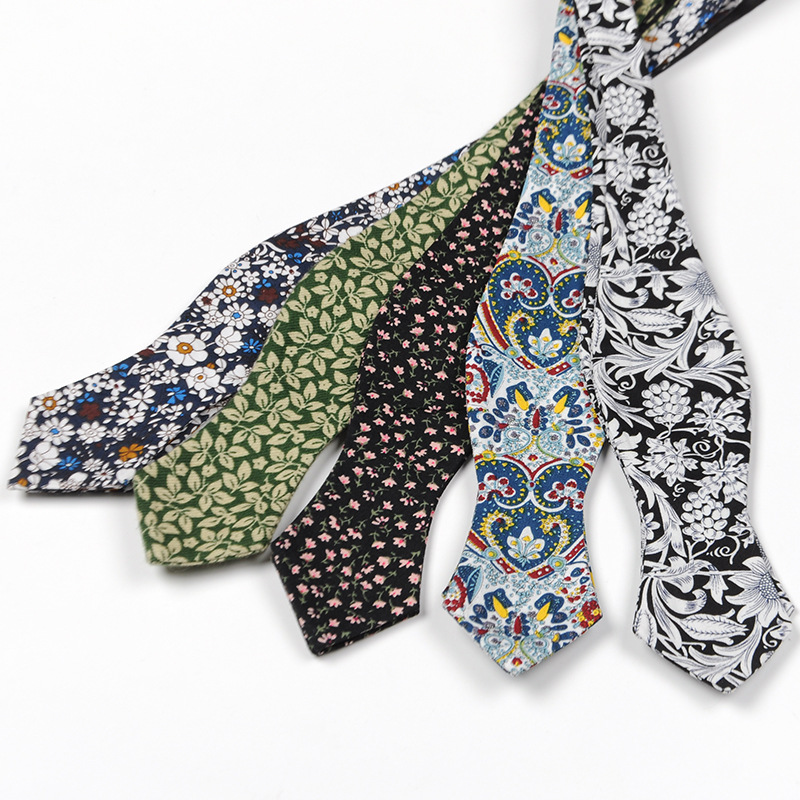 Mens Cotton Self Tie Bow Ties Luxury Tie Adjustable Floral Bowtie For Men Noeud Papillon Business Wedding Multi-Colors