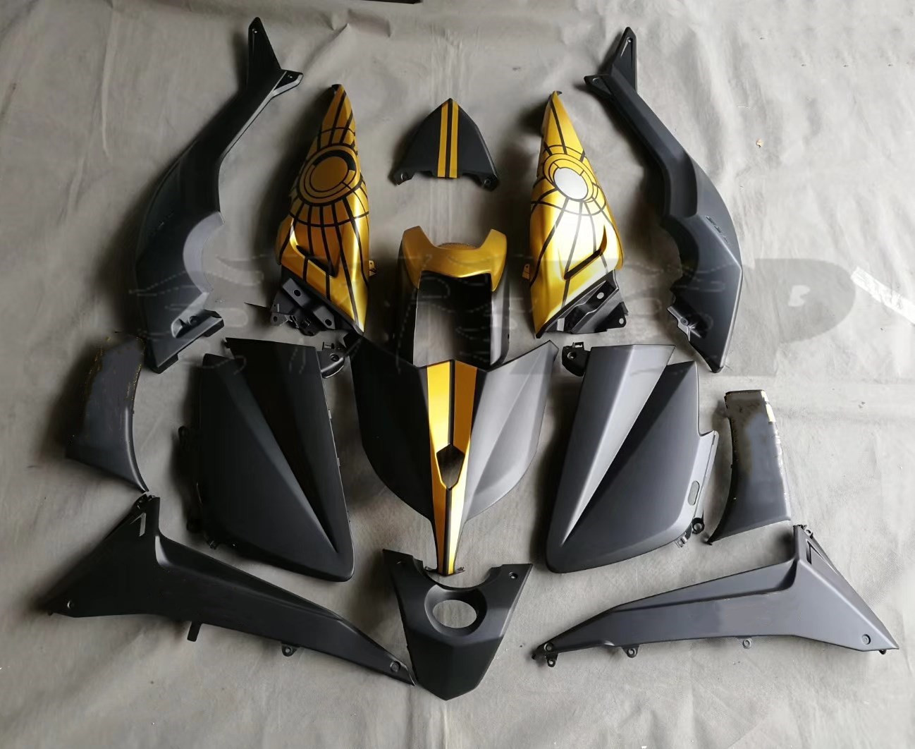 Motorcycle ABS Bodywork Fairing Kit For Yamaha TMAX530 T MAX T MAX 530 2014 2013 2012