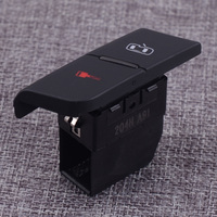 DWCX 1Pc Black LH Front Central Door Lock Unlock Safety Switch Button Fit For AUDI A4 S4 B6 B7 2001 2004 2005 2006 2007 2008