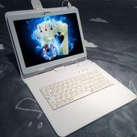 K109 מקלדת מתנה חינם 10.1 Inch Tablet טלפון אנדרואיד 7.0 4 גרם LTE tablet pc RAM 4 GB ROM 64 GB 8 MP IPS מחשב MT6753