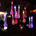 20LED 30LED Solar Outdoor String Fairy Light Solar Powered Outdoor String Lamp for Outside Garden Camping Patio Party Christmas
