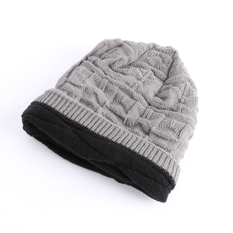 Unisex Knit Winter Women Men Cashmere Hip-Hop Beanie Cap Skull Baggy Wool Knitted Hat men women warm knit skullies bonnet beanie brand new wool winter baggy hat solid color hip hop gorro unisex female cap