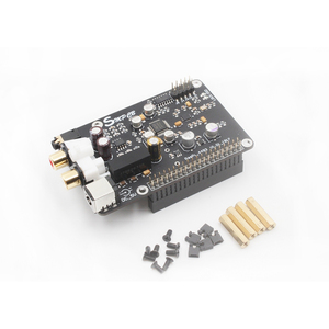 Image 1 - AK4493 DAC Decoder Board Digital Broadcast Netzwerk Player Für Raspberry Pi 2B 3B 3B + Dekodierung Zu I2S 32BIT 384KHZ DSD128
