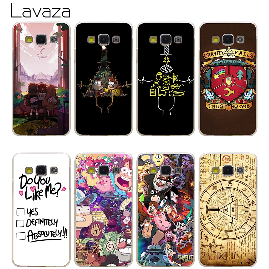 Lavaza Gravity Falls Hard Transparent Cover Case for ...