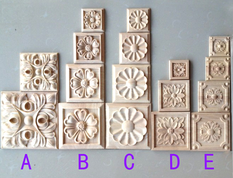 Decorative Wood Appliques Promotion-Shop for Promotional