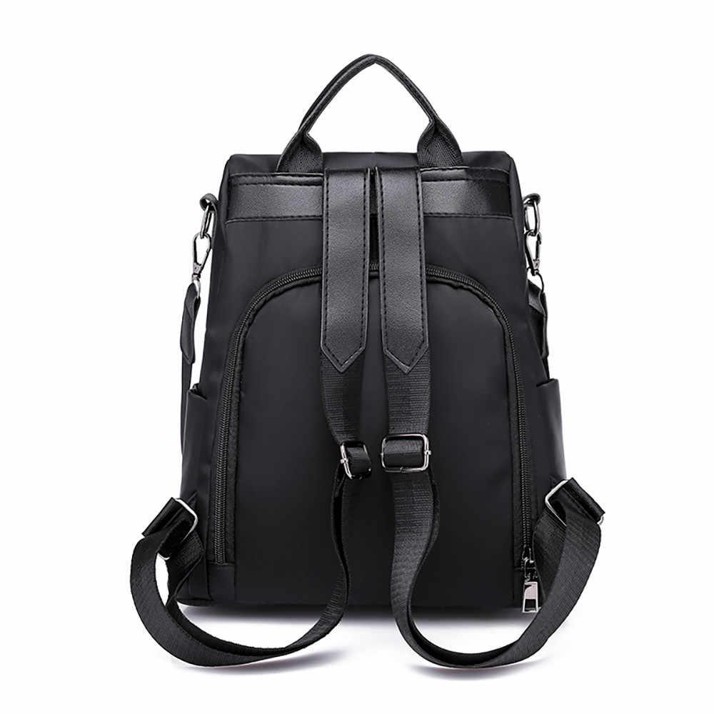 ผู้หญิงใหม่กระเป๋าเป้สะพายหลัง anti - theft กระเป๋าเดินทางผ้า Oxford คุณภาพสูงเป้สำหรับวัยรุ่น Bagpack mochila